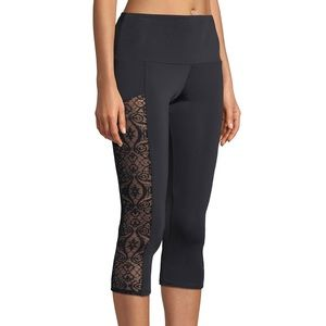 Onzie stunner lace panel leggings size S/M